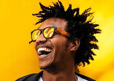 young black man best dental result
