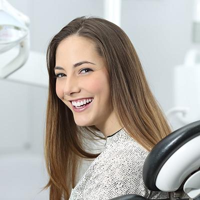Young Female Dental Checkup