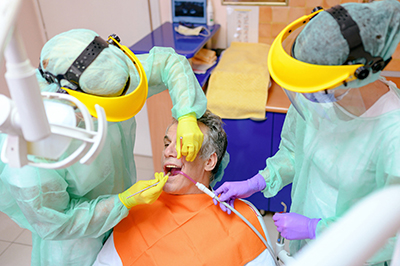 covid 19 corona dentist in chelsea